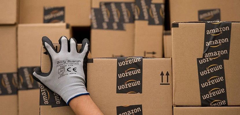 Paquetes de Amazon para envío