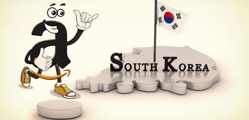 Amazon a Corea del Sur