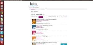 Aplicación de Kobo en Ubuntu