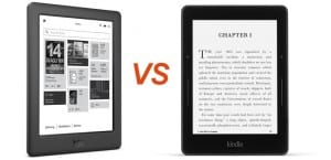 Kobo Glo HD vs Kindle Voyage