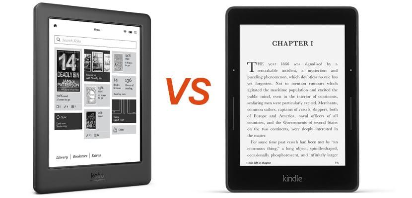 Kobo Glo HD vs Kindle Voyage