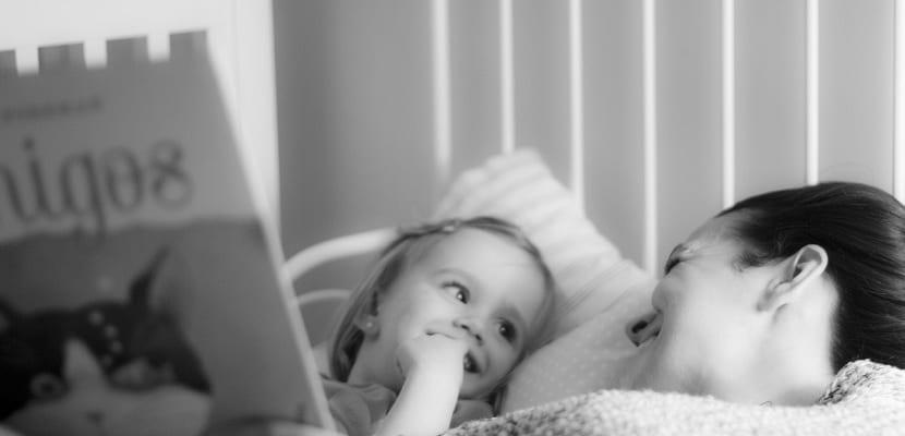 Leer a un bebé
