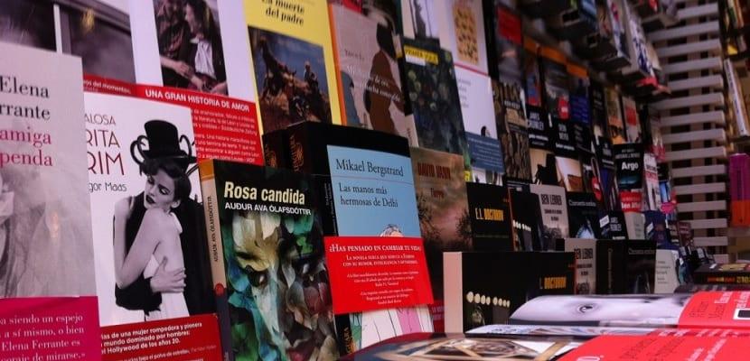 Venta de libros en España