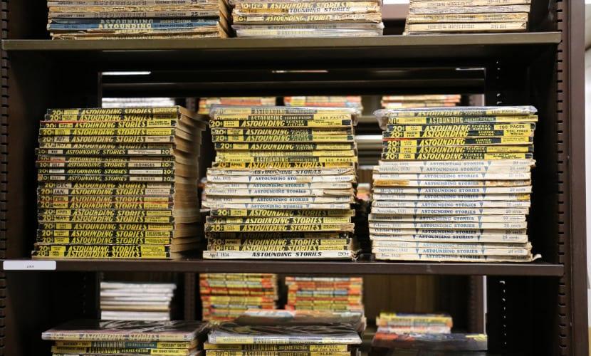 La Universidad de Iowa digitalizará más de 18.000 libros de ciencia ficción