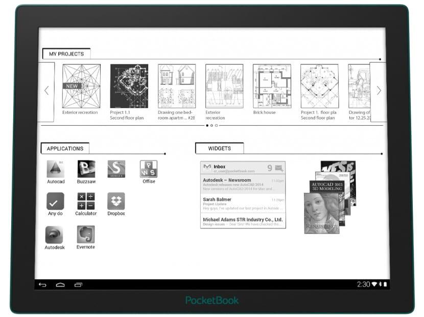 Pocketbook CAD