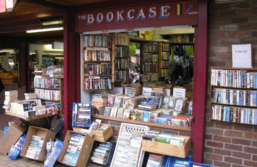 Librería de libros de segunda mano