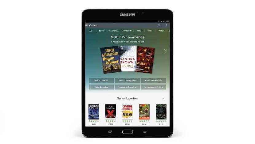 Samsung Galaxy Tab S2 Nook
