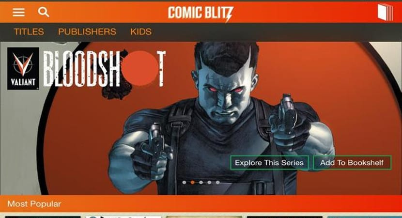 Comic Blitz App