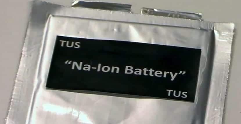 Batería Sodio-Ion