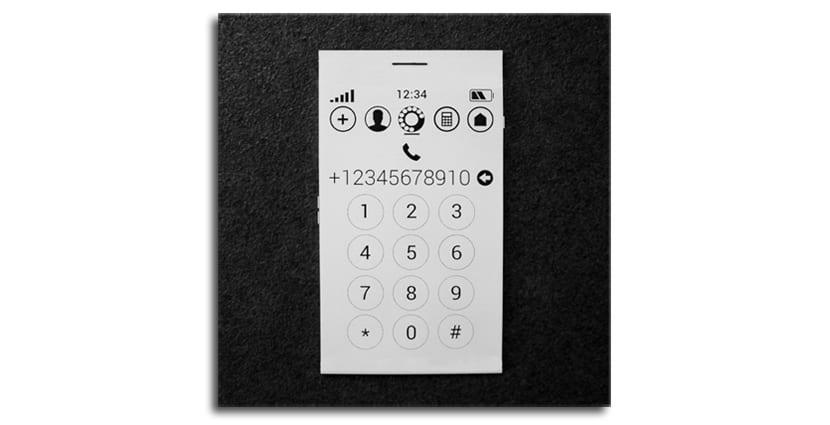 Teléfono e-ink
