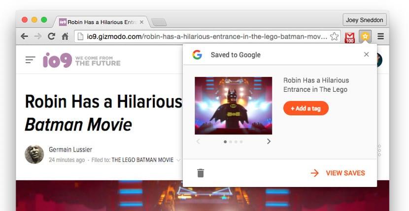 Google Save