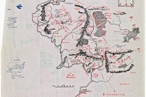 Mapa Tolkien