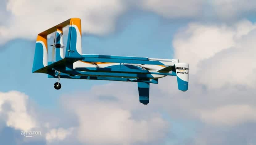 Dron de Amazon
