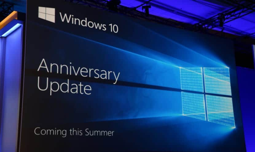 Windows 10 Update Anniversary