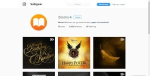 Instagram de iBooks