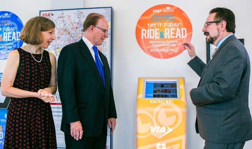 Quiosco Ride & Read