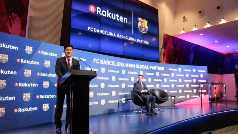 Rakuten en FC BArcelona