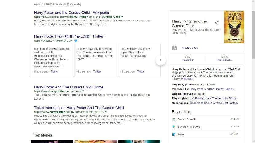 Buscador de Google