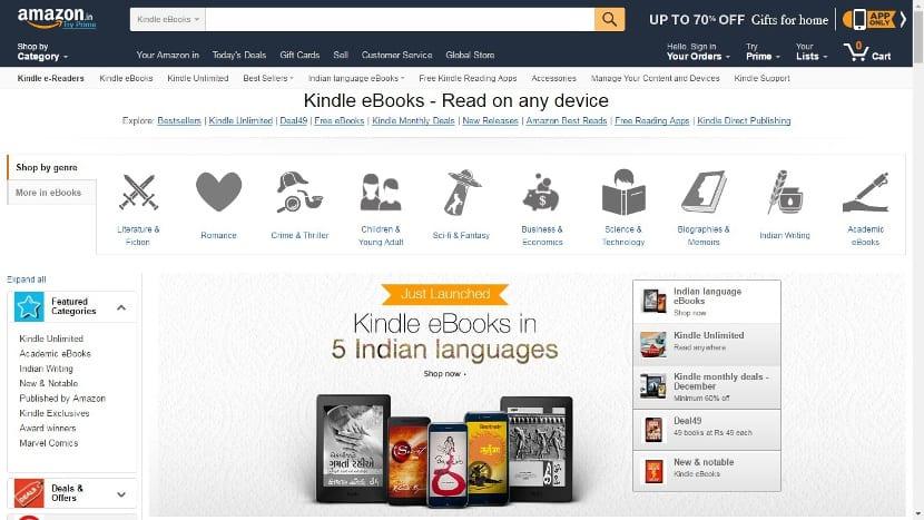 Kindle de La India