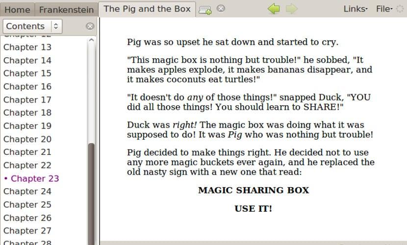 Imagen de Lucidor mostrando un ebook en formato epub