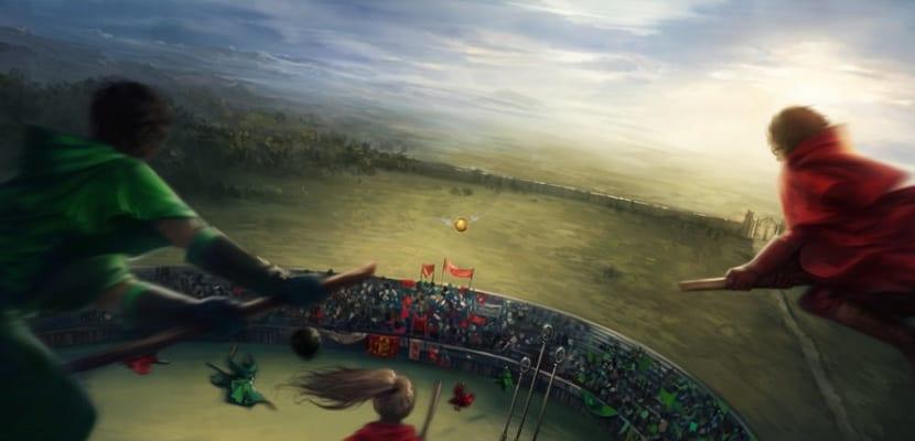 Juego del Quidditch