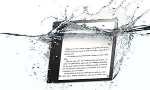 Nuevo Kindle Oasis bajo el agua