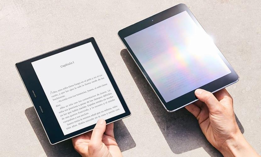 Nuevo Kindle Oasis bajo el sol