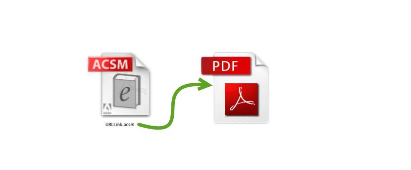 pasar de acsm a pdf
