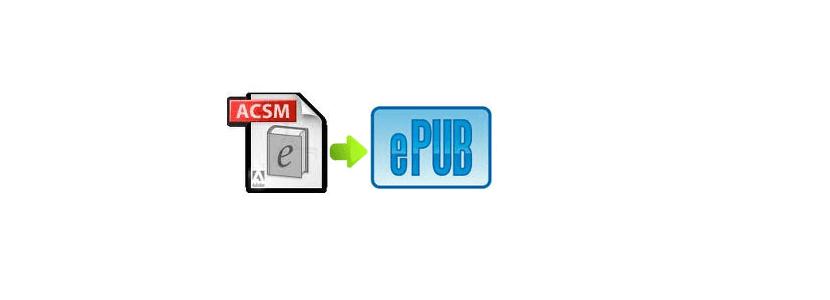 convertir formato ACSM enPub