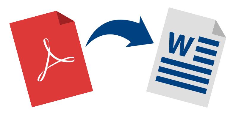 Convertir un PDF en word con formato .doc