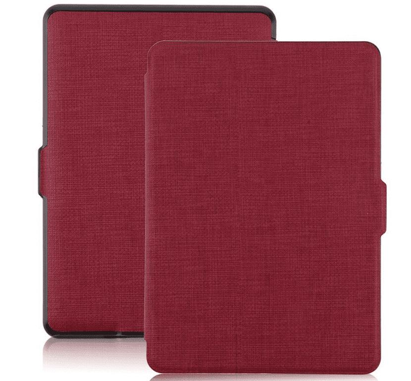 Funda roja para Kindle Paperwhite 6 pulgadas