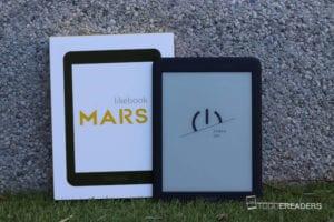 Packaging y empaquetado del ereader likebookmars