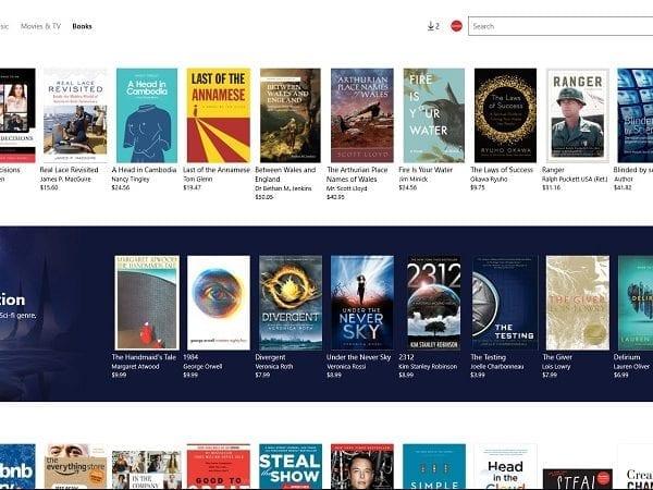 Los eBook de Microsoft se despiden este mes de forma definitiva