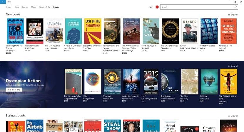 Microsoft tienda eBook