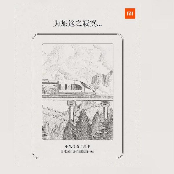 Xiaomi presentará su libro electrónico el próximo 20 de noviembre