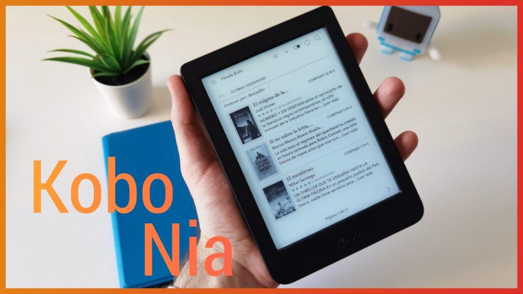 Análisis del Kobo Nia, más asequible y más resolución