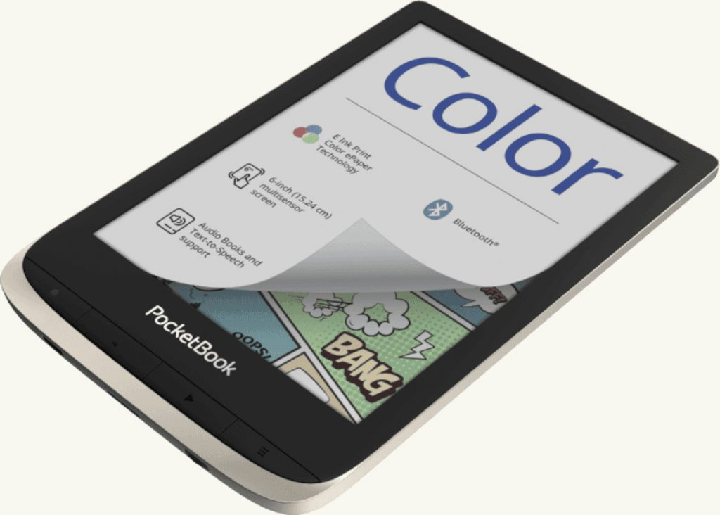 PocketBook presenta sus nuevos dispositivos: PocketBook Color y PocketBook Touch Lux 5