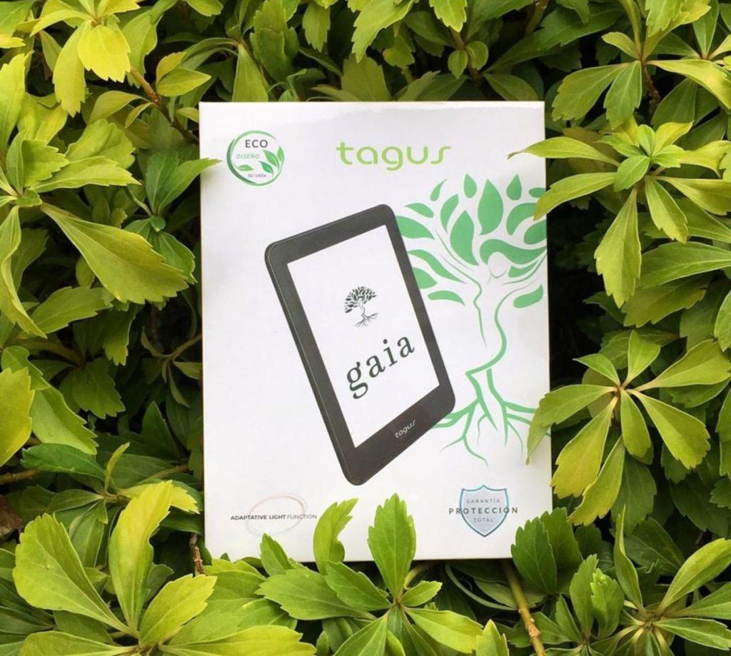 Tagus Gaia Eco+, el eReader más sano que podremos encontrar