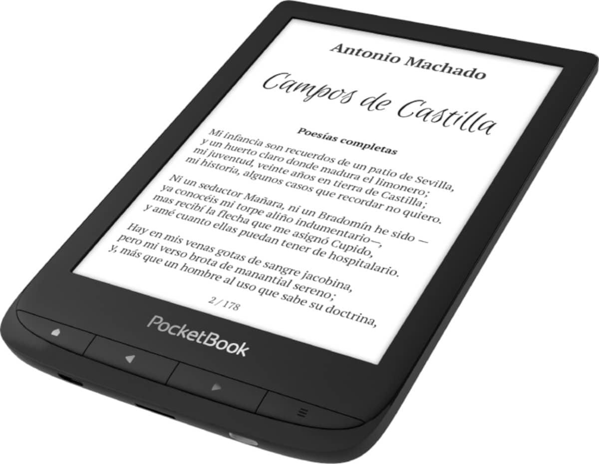 Imagen del nuevo PocketBook Touch Lux 5