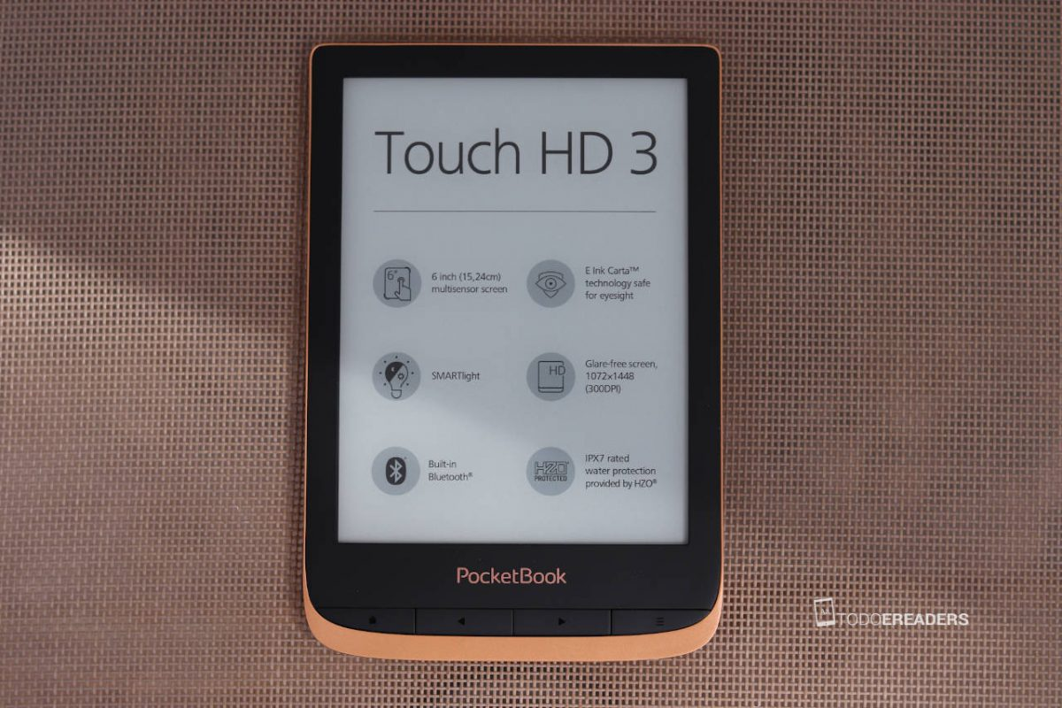 impresiones del ereaer touch HD 3