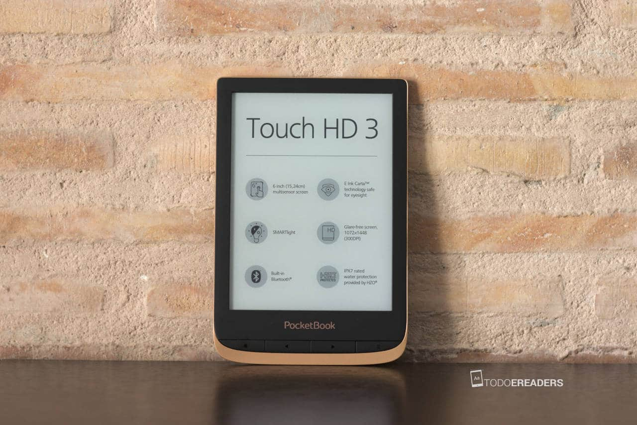 Ereader PocketBook Touch HD 3