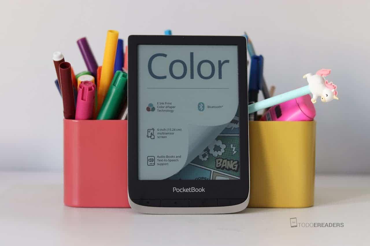 analsis del ereader de tinta electronica a color pocketbook color
