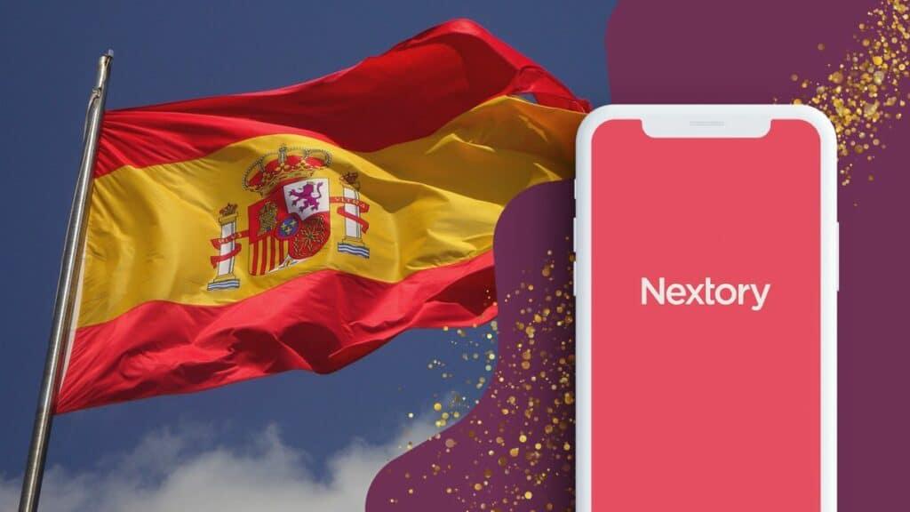 Imagen oficial de Nextory en España