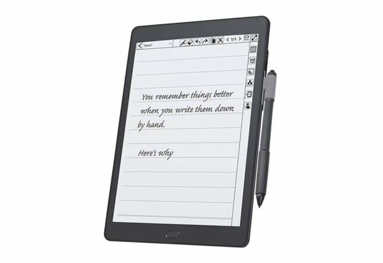 Kloudnote, imagen de un cuaderno digital nuevo