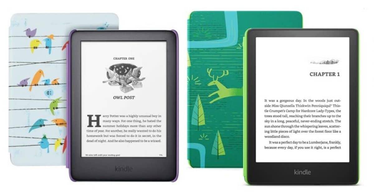 Kindle Paperwhite y Kindle Kids